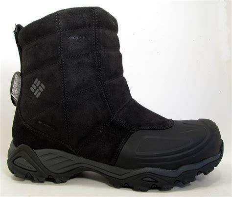columbia boots mens new columbia silcox slip ii omni heat waterproof mens