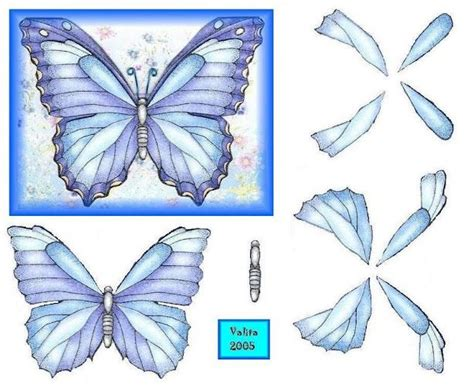 Butterfly Decoupage - 1000 images about butterfly decoupage on blue