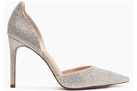 17 sensational silver wedding shoes for brides with style