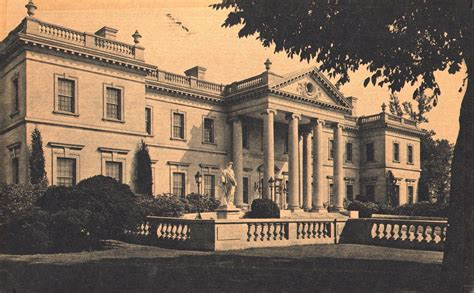 House Plans For Mansions by Mansions Of The Gilded Age Whitemarsh Hall After Demolition