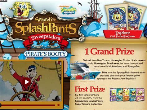 Nickelodeon Cruise Sweepstakes - spongebob splashpants sweepstakes