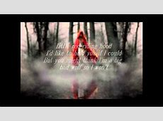 Amanda Seyfried- Little Red Riding Hood (lyrics on the ... Little Red Riding Hood Lyrics