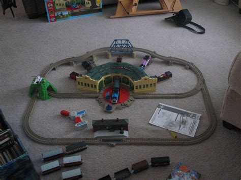 Tidmouth Sheds Trackmaster by Trackmaster At Tidmouth Sheds Set By Taionafan369