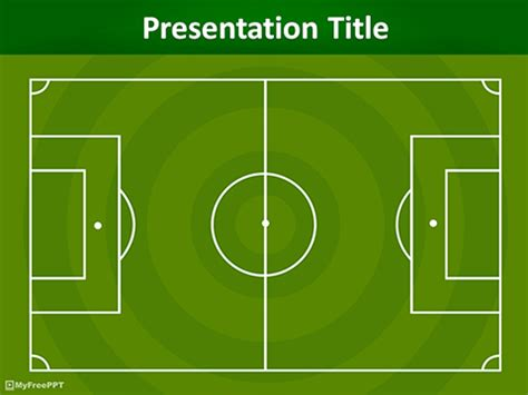Free Sports Powerpoint Templates Themes Ppt Football Field Powerpoint Template