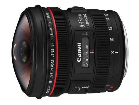 Lensa Canon Fisheye 15mm canon ef 8 15mm f 4 l usm fisheye specifications and
