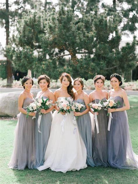 braut jungfern kleider newport beach wedding in a garden brautjungfern
