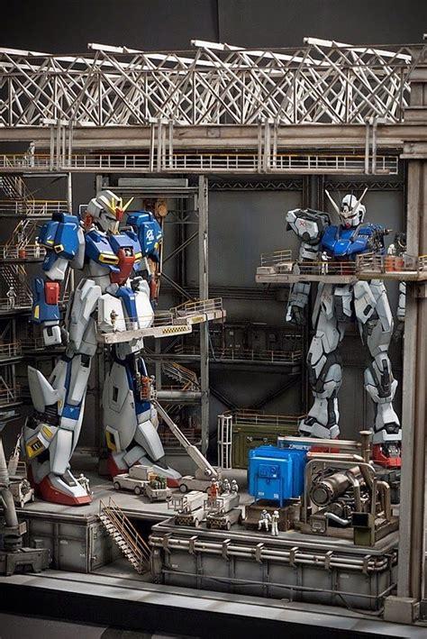 Diorama Gundam Gunpla 194 best images about gunpla diorama on