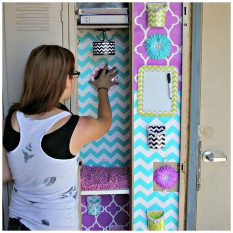 how to make locker decorations at home world s cutest locker with llz by lockerlookz dollar