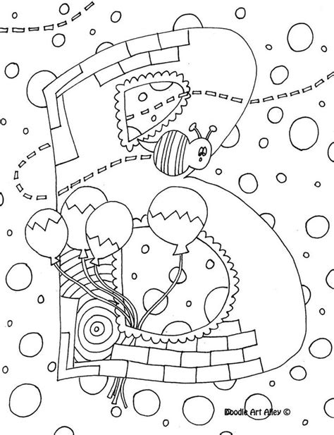 letter coloring pages doodle art alley stuff to do