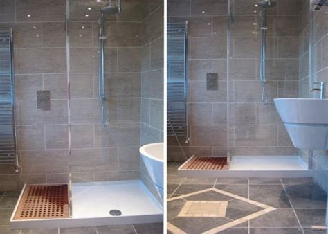 how to build a wet room bathroom the bathroom wet room floor has a drain and what looks