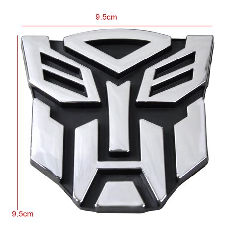 Sticker Transformer Autobot T001 3d logo protector transformers autobot emblem badge graphics decal car sticker ebay