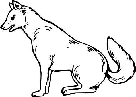 Coloriage Loup Animal 224 Imprimer Sur Coloriages Info