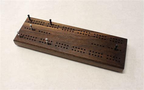 2 track standard scoring cribbage board
