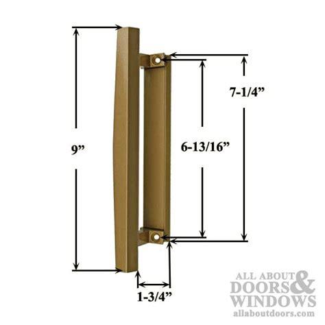 handles for sliding doors interior pella sliding door handle interior pull bronze