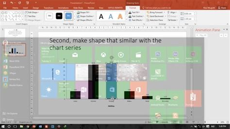 tutorial membuat game powerpoint powerpoint tutorial how to make bar chart animation cara