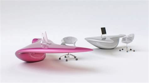 futuristic l shaped desk for modern workspaces digsdigs futuristic bright office desk of acryl digsdigs