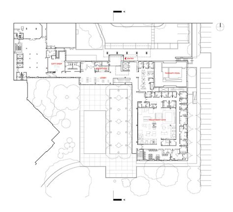 St Augustine Detox Center by Gallery Of St Johns Rehab Montgomery Sisam Architects