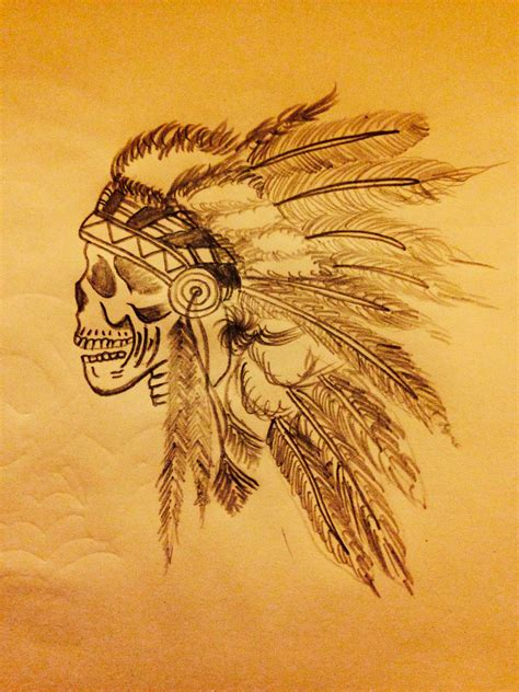 indian head tattoos idea indian dress tattoos