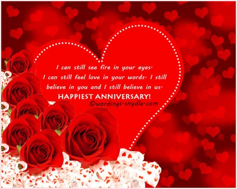 Wedding Anniversary Message To My by Wedding Anniversary Messages For Husband Wordings And