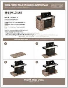 Diy Patio Enclosures Rumble Stone Bbq Surround The Home Depot Community