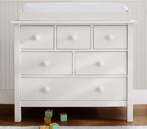 pottery barn dresser baby dresser with changing table 3drawer changer dresser kd