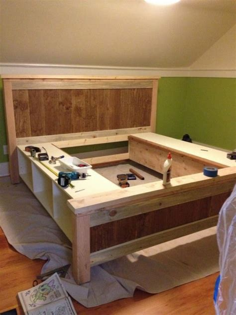 diy storage beds diy storage bed ideas for small places diy craft ideas