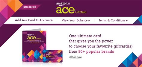 Ace Gifts Cards - amazon in ace gift card gift cards