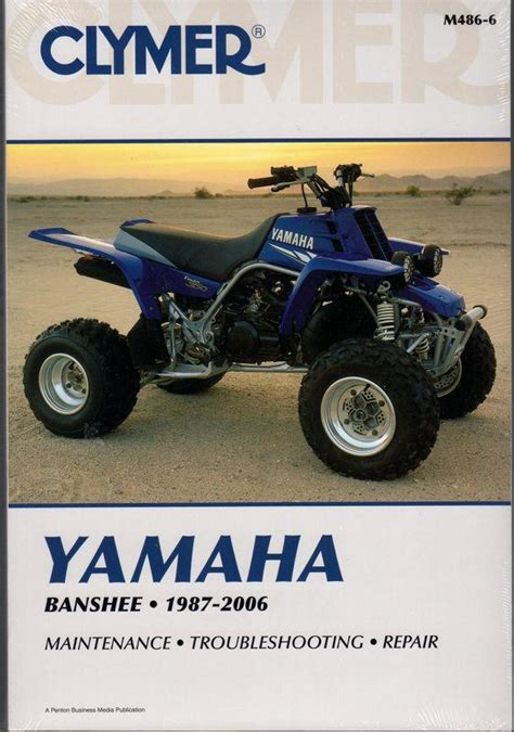 Buy 1987 2006 Clymer Yamaha Atv Banshee Service Repair