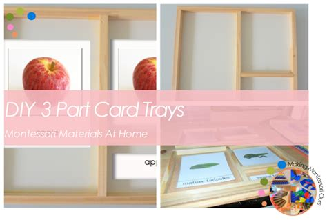 montessori three part card template doc diy montessori 3 part card trays montessori materials at