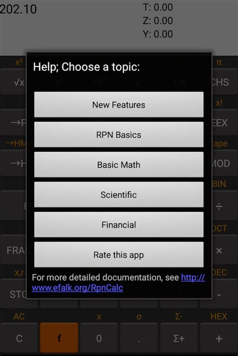 best rpn calculator rpncalc rpn calculator android apps on play