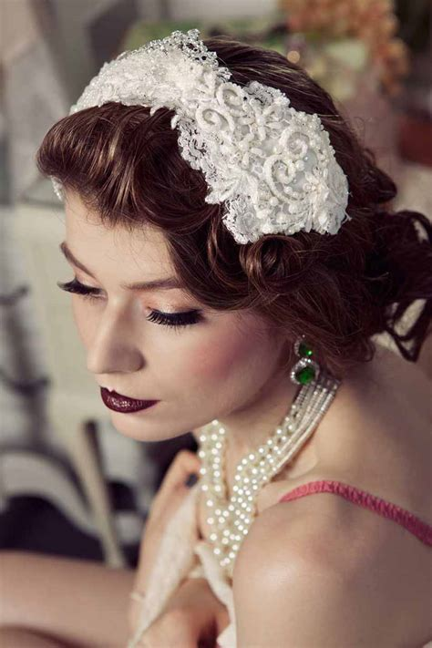 Luellas Boudoir Hair Accessories by Le Boudoir Mariees By Viktoria Novak Modern Wedding