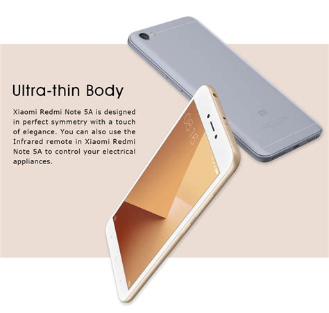 New Xiaomi Redmi Note 5a Ram 2gb 16gb Gold Garansi Distributor xiaomi redmi note 5a 5 5 snapdragon 2gb 16gb nougat 7 dual sim global rom gold ebay