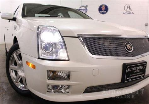 auto body repair training 2007 cadillac sts auto manual find used 2006 cadillac sts awd 4 door 4 6l pearl white parts car wrecked salvage title in