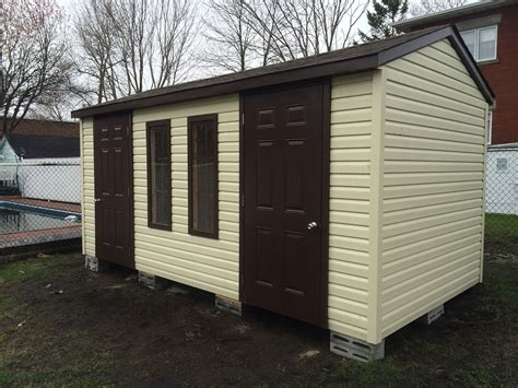 garden shed installed this morning cabanon fortin inc