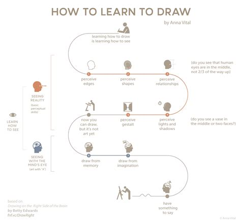 How To Draw What You See vital information designer