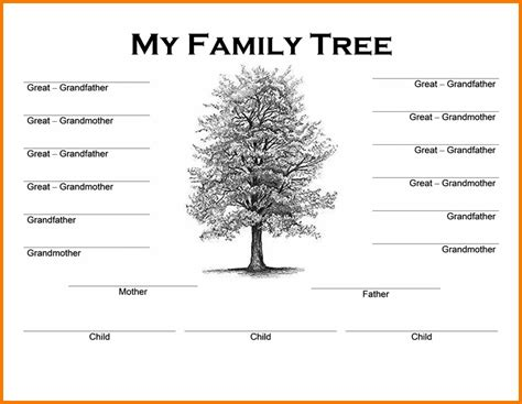 Family Tree Word Template Authorization Letter Pdf Tree Letter Template