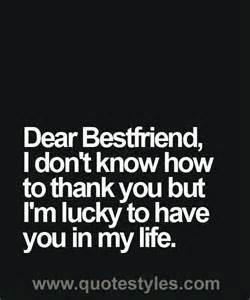 Thank You Letter To My Guy Friend 25 Best Ideas About Dear Best Friend On Pinterest Best