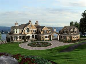 Eplans Mansions Eplans Shingle House Plan Splendid Shingle Style Manor