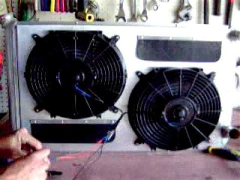 5000 cfm electric radiator fan radiator fan shroud cfm demonstration youtube
