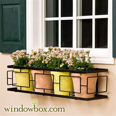 window box cage 24 quot contemporary window box cage square design window