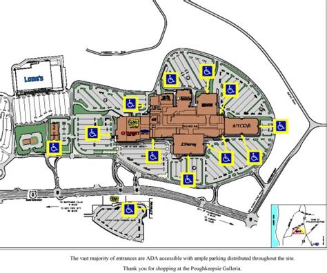 galleria mall map poughkeepsie galleria the dominant shopping center and entertainment destination of