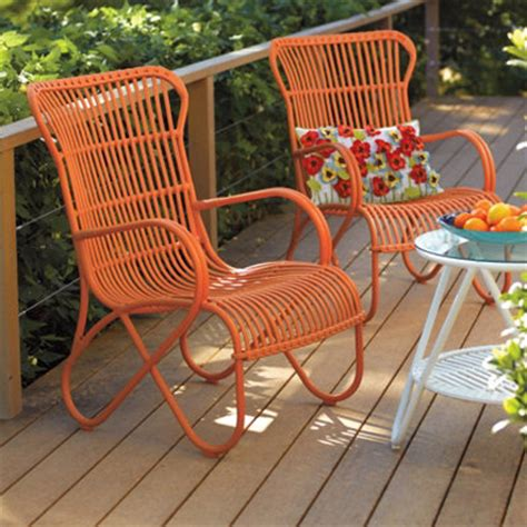 orange outdoor furniture turquoise interior design by room fu knockout