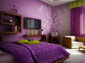 Bedroom Paint Color Schemes - purple bedroom ideas for teenage girls round pulse