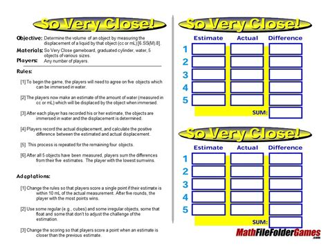 printable maths games for upper primary 42 printable math games for upper elementary and middles