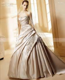 champagne colored wedding dresses the wedding specialists