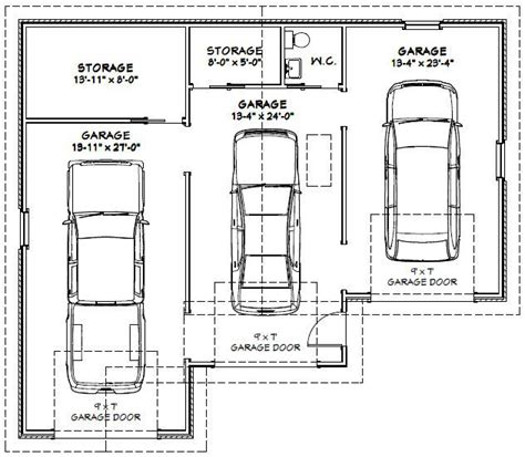 garage size 2 car garage dimensions google search andrew garage