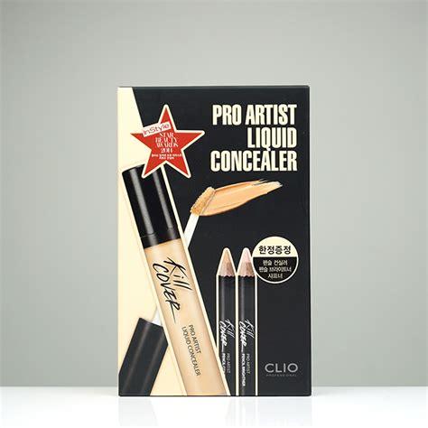 Clio Professional Kill Cover Pro Artist Liquid Color Concealer clio kill cover pro artist liquid concealer set review