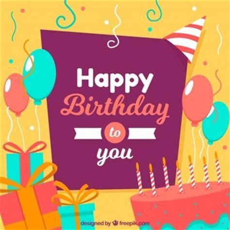 happy birthday design ai birthday backdrop vectors photos and psd files free