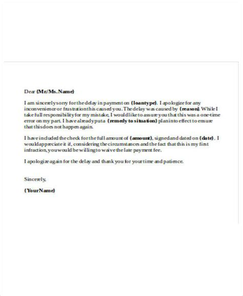 Business Letter Apology For Delay Payment 28 payment letter formats