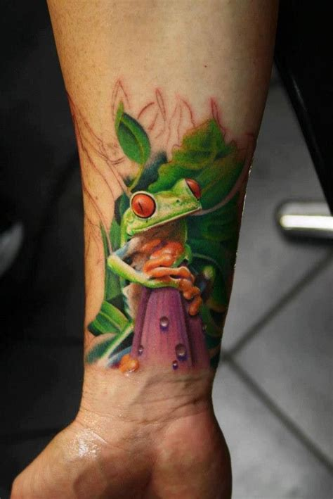 rainforest frog tattoo tattoos pinterest frogs